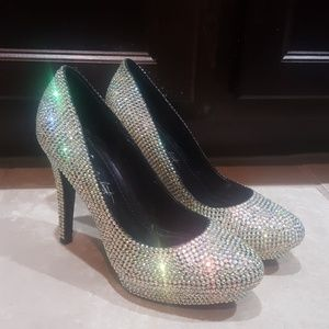 ABS by ALLEN SCHWARTZ Bling Heels - Size 7 1/2
